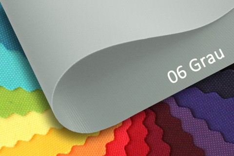 novely® OXFORD PRO Polyester Stoff | anschmiegsam | Farbe 06 Grau