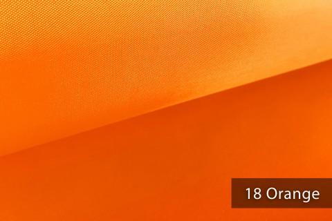 novely® OXFORD LIGHT | 1 lfm | Reißfester Outdoorstoff | Wasserabweisend | Umhang | Abdeckung | 18 Orange