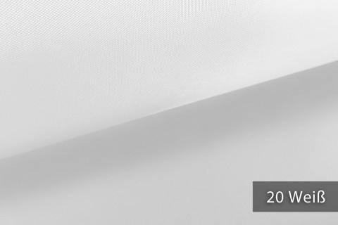 novely® OXFORD LIGHT | 1 lfm | Reißfester Outdoorstoff | Wasserabweisend | Umhang | Abdeckung | 20 Weiss