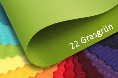 novely® OXFORD 210D Polyester Stoff | anschmiegsam | Farbe 22 Grasgrün