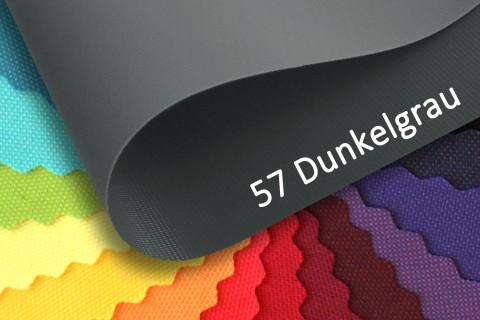 novely® OXFORD PRO Polyester Stoff | anschmiegsam | Farbe 57 Dunkelgrau