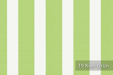 novely®  ARAGON DUO LLORET | Premium Outdoor Stoff | 100% dralon® | Baumwoll-Optik | lichtecht | UV beständig | 19 Kiwi Grün