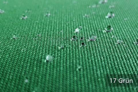 novely® ARAGON WASSERABWEISEND | Premium Outdoor Stoff | 100% dralon® | Baumwoll-Optik | lichtecht | UV-beständig | 17 Grün
