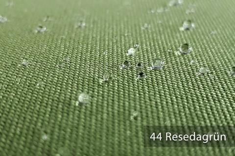 novely® ARAGON WASSERABWEISEND | Premium Outdoor Stoff | 100% dralon® | Baumwoll-Optik | lichtecht | UV-beständig* | 44 Resedagrün