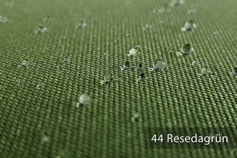 novely® ARAGON WASSERABWEISEND | Premium Outdoor Stoff | 100% dralon® | Baumwoll-Optik | lichtecht | UV-beständig | 44 Resedagrün