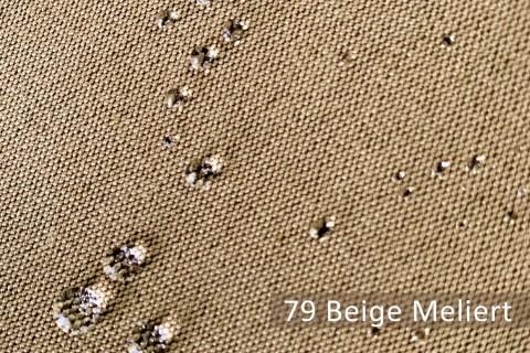 novely® ARAGON MARKISENSTOFF   320 cm Überbreite   wasserabweisend   lichtecht   UV-beständig*   79 Beige Meliert