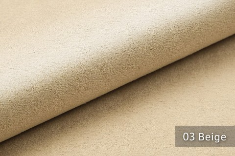 novely® ALPEN | Microfaser in Wildleder Look | Polsterstoff | Farbe 03 Beige