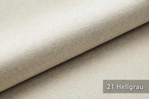 novely® ALPEN | Microfaser in Wildleder Look | Polsterstoff | Farbe 21 Hellgrau