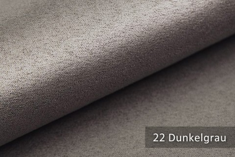 novely® ALPEN | Microfaser in Wildleder Look | Polsterstoff | Farbe 22 Dunkelgrau