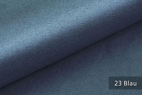 novely® ALPEN | Microfaser in Wildleder Look | Polsterstoff | Farbe 23 Blau