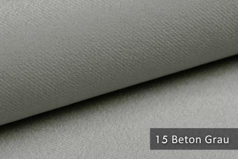 novely® ARTENA - Möbelstoff, Velours, samtig weicher Polsterstoff | Farbe 15 Beton Grau