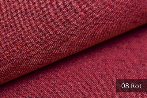 novely® AUEN Webstoff | Polsterstoff | Farbe 08 Rot