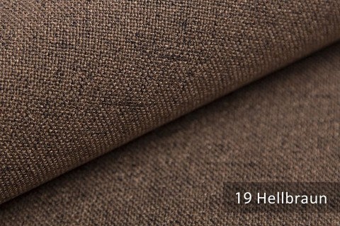 novely® AUEN Webstoff | Polsterstoff | Farbe 19 Hellbraun