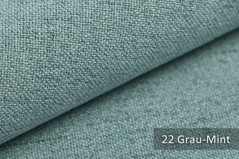 novely® AUEN Webstoff   Polsterstoff   Farbe 22 Grau Mint