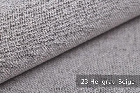 novely® AUEN Webstoff | Polsterstoff | Farbe 23 Hellgrau Beige