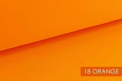 novely® BRION Mittelschwerer Köper Twill Segeltuch Baumwolle Mischgewebe Stoff |  Berufskleidung | Polsterstoff | 18 Orange