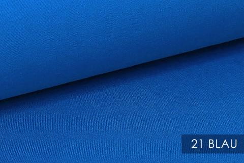 novely® BRION Mittelschwerer Köper Twill Segeltuch Baumwolle Mischgewebe Stoff |  Berufskleidung | Polsterstoff | 21 Blau