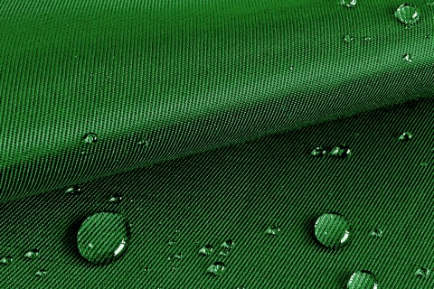 novely® LOGAN OUTDOOR Köper Baumwoll-Mix | Robust | Stoff | Wasserabweisend | Polsterstoff Segeltuch | 32 Dunkelgrün