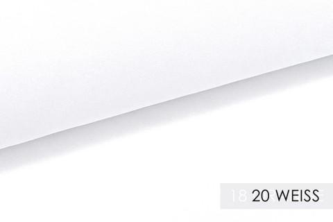 novely® PROVENT Schwerer Twill | 100%  Baumwolle | Reißfester Stoff | Polsterstoff Segeltuch Schutzbekleidung | 20 Weiss