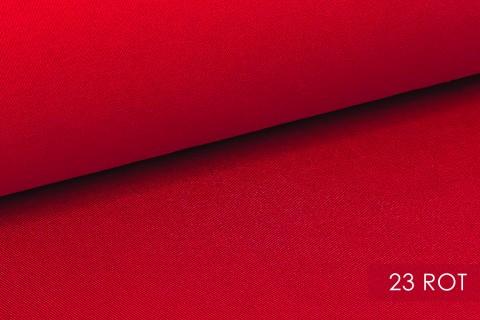 novely® PROVENT Schwerer Twill | 100%  Baumwolle | Reißfester Stoff | Polsterstoff Segeltuch Schutzbekleidung | 23 Rot
