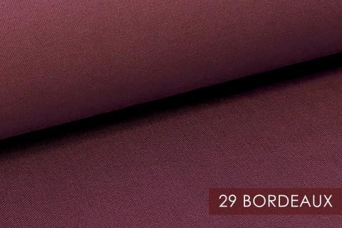 novely® PROVENT Schwerer Twill | 100%  Baumwolle | Reißfester Stoff | Polsterstoff Segeltuch Schutzbekleidung | 29 Bordeaux