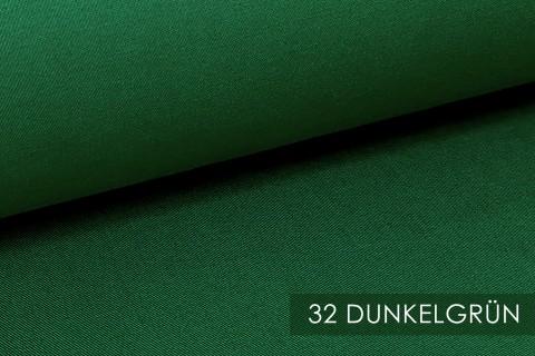 novely® PROVENT Schwerer Twill | 100%  Baumwolle | Reißfester Stoff | Polsterstoff Segeltuch Schutzbekleidung | 32 Dunkelgrün