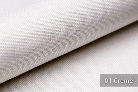 novely® BALTRUM Webstoff | Polsterstoff | Farbe 01 Creme