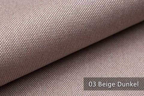 novely® BALTRUM Webstoff | Polsterstoff | Farbe 03 Beige Dunkel