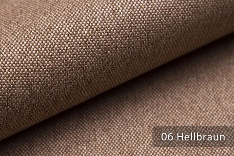 novely® BALTRUM Webstoff | Polsterstoff | Farbe 06 Hellbraun