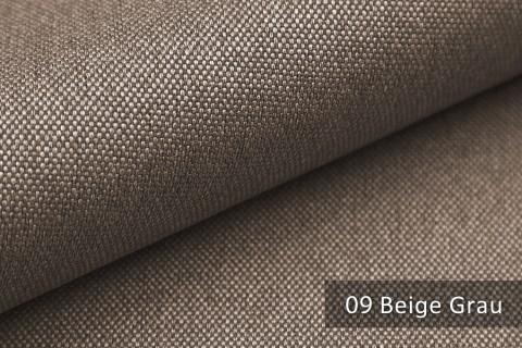 novely® BALTRUM Webstoff | Polsterstoff | Farbe 09 Beige Grau