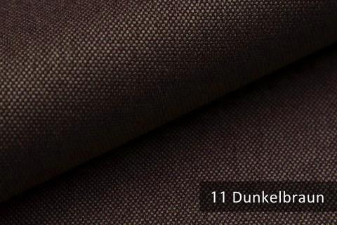 novely® BALTRUM Webstoff | Polsterstoff | Farbe 11 Dunkelbraun