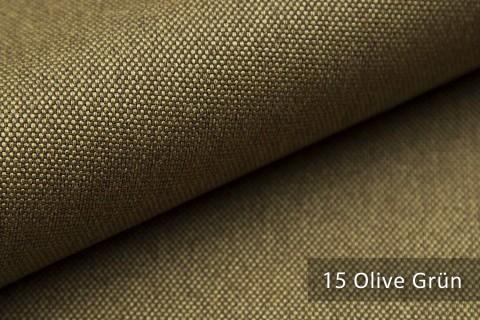 novely® BALTRUM Webstoff | Polsterstoff | Farbe 15 Olive Grün