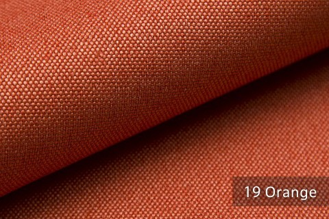 novely® BALTRUM Webstoff | Polsterstoff | Farbe 19 Orange