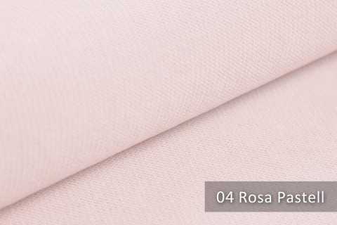 novely® BELL | Chenille Möbelstoff | Polsterstoff | Farbe 04 Rosa Pastell