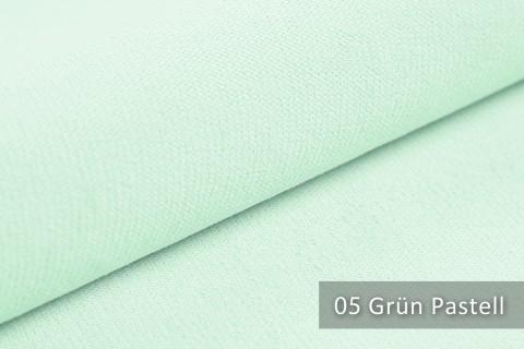 novely® BELL | Chenille Möbelstoff | Polsterstoff | Farbe 05 Grün Pastell
