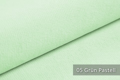 novely® BELL | Chenille Möbelstoff | Polsterstoff | Farbe 05 Grün Pastell