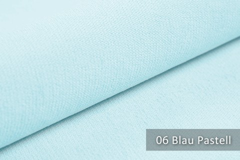 novely® BELL | Chenille Möbelstoff | Polsterstoff | Farbe 06 Blau Pastell