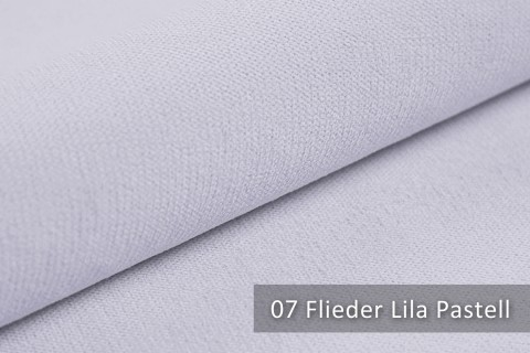 novely® BELL | Chenille Möbelstoff | Polsterstoff | Farbe 07 Flieder Lila Pastell