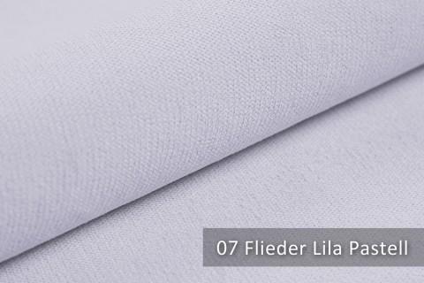 novely® BELL | Chenille Möbelstoff | Polsterstoff | Farbe 07 Flieder Lila Pastell