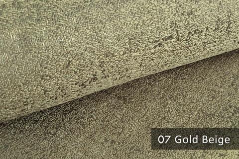 novely® exquisit BRIVIO – prunkvoller und eleganter Möbelstoff  | 07 Gold Beige