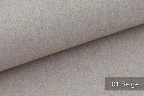 novely® exquisit CALMI Stoff Woll-Optik meliert | Polsterstoff schwer entflammbar | 01 Beige