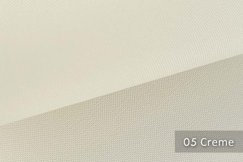 novely® exquisit CAPRI – wasserdichter Outdoor-Möbelstoff mit leichtem Glanz | 05 Creme