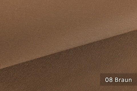 novely® exquisit CAPRI – wasserdichter Outdoor-Möbelstoff mit leichtem Glanz | 08 Braun