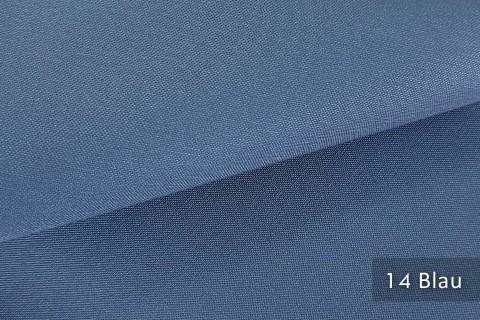 novely® exquisit CAPRI – wasserdichter Outdoor-Möbelstoff mit leichtem Glanz | 14 Blau
