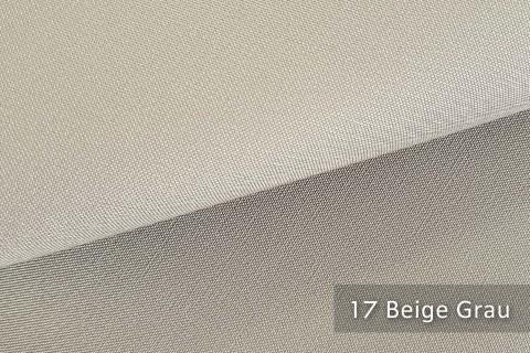 novely® exquisit CAPRI – wasserdichter Outdoor-Möbelstoff mit leichtem Glanz | 17 Beige Grau