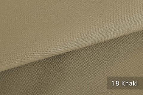 novely® exquisit CAPRI – wasserdichter Outdoor-Möbelstoff mit leichtem Glanz | 18 Khaki