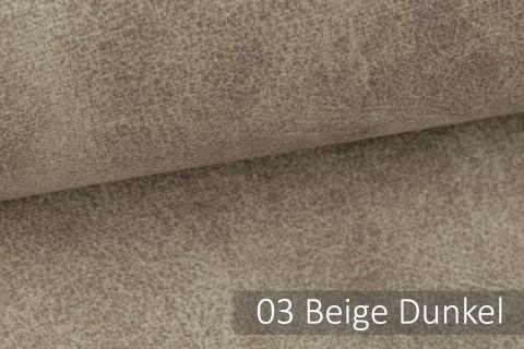 novely® COUEN VINTAGE Soft-Velours Antik | Vintage Möbelstoff Polsterstoff | Mediterraner Styl | 03 Beige dunkel