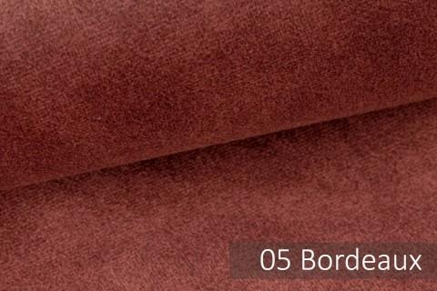 novely® COUEN VINTAGE Soft-Velours Antik | Vintage Möbelstoff Polsterstoff | Mediterraner Styl | 05 Bordeaux