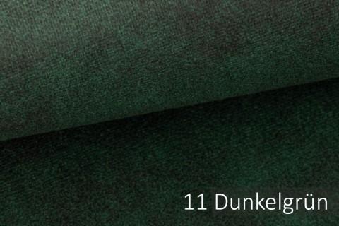 novely® COUEN VINTAGE Soft-Velours Antik | Vintage Möbelstoff Polsterstoff | Mediterraner Styl | 11 Dunkelgrün