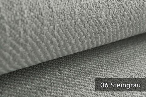 novely® exquisit DECORETTO - weicher Polsterstoff in Naturfaserlook mit ULTRA-CLEAN Technologie, schwer entflammbar | 06 Steingrau